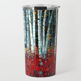 :: Begonia Birch :: Travel Mug