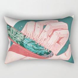 Sound and Fury Rectangular Pillow