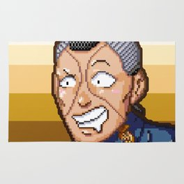 JJBA - Okuyasu Nijimura Pixel Art Rug