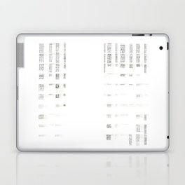 Architecture Diagram - A Study at An Intersection Laptop & iPad Skin