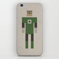 Retro Green Lantern iPhone & iPod Skin