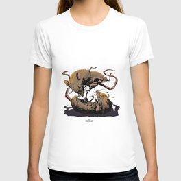 rat fight T-shirt