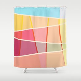Colorful Design Sunshine Shower Curtain
