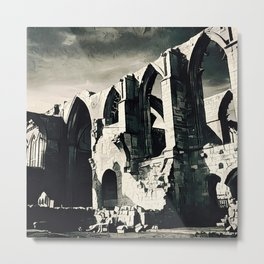 Dark Arches Metal Print