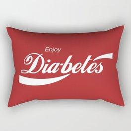 Enjoy Diabetes Rectangular Pillow