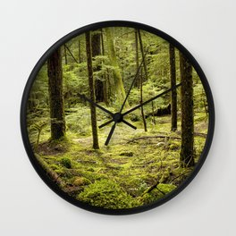A Mystery in Green Wall Clock