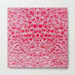 heart lace Metal Print