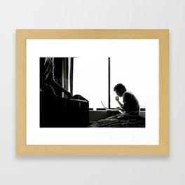 mamapapa Framed Art Print