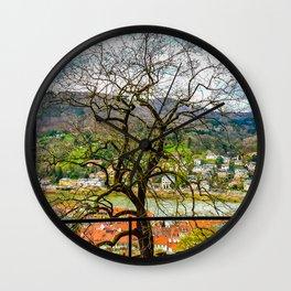 Window to the Tree of Life Wall Clock