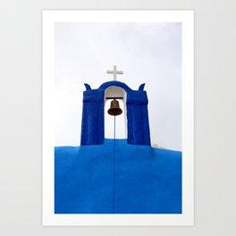 Bell tower - Santorini Kunstdrucke