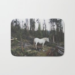 The White Horse Bath Mat