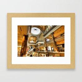 Ceasars Spiral  Framed Art Print