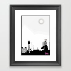 my view Framed Art Print