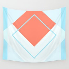 Diamond Red Wall Tapestry