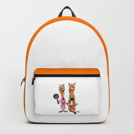 Family foxes Backpack