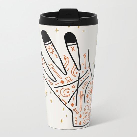 Sleight of Hand Metal Travel Mug