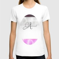 asexual T-shirts featuring Asexual pride by Adam M. Snowflake