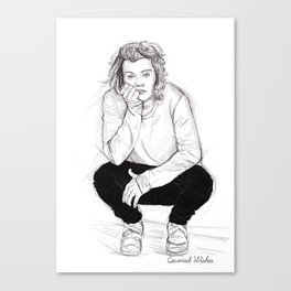 Cute Harry Canvas Print