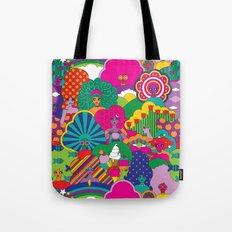 Girls Girls Girl Tote Bag