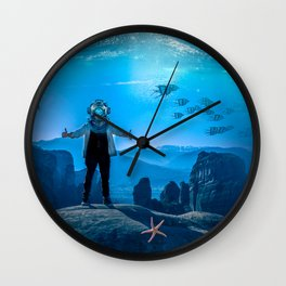 20,000 Leagues Under the Sea (SQUARE) Wall Clock