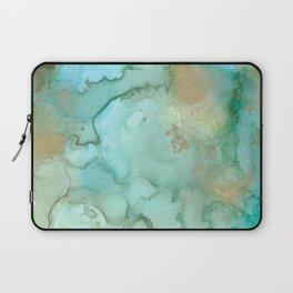 Alcohol Ink 'Mermaid' Laptop Sleeve