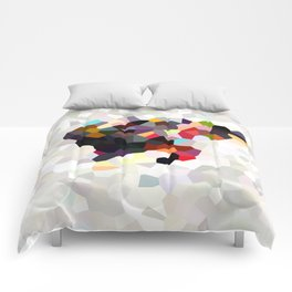 Spain Landscape Geometric Abstract Comforters