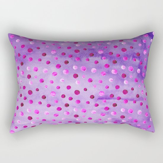Polka Dot Pattern 02 Rectangular Pillow
