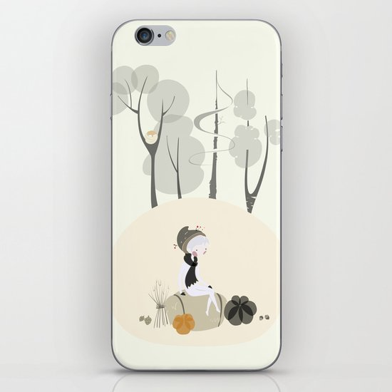 Our Elf of the Harvest iPhone Skin