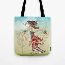 wayang Princess Srikandi Tote Bag