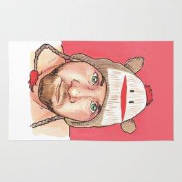 the Sock Monkey Boy Rug