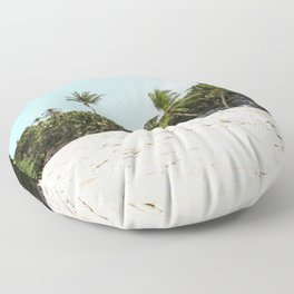 Day In Paradise Floor Pillow