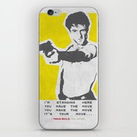 taxi driver iPhone & iPod Skins featuring Taxi Driver by Geminianum