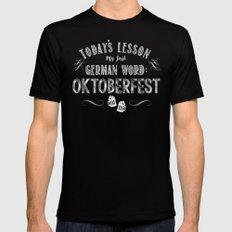 Oktoberfest (Beer / Bier) MEDIUM Black Mens Fitted Tee