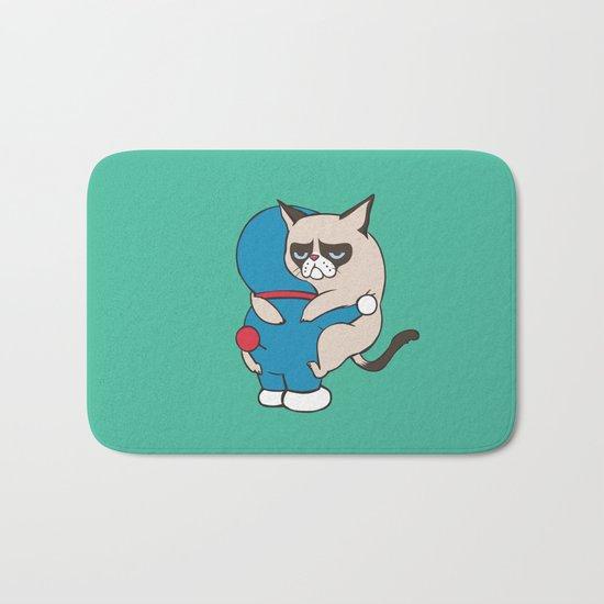 Cat Hugs Bath Mat