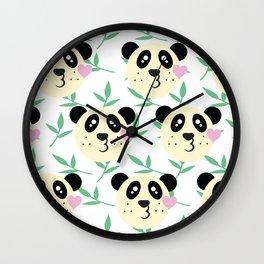 WWF Panda Donations Wall Clock