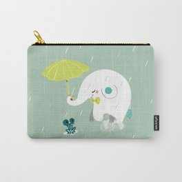Rainy Elephant Carry-All Pouch