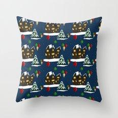 Christmas Town Throw Pillow