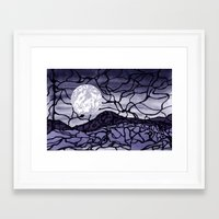 cracked Framed Art Prints featuring Cracked by Mel Moongazer