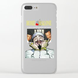 Home Malone Clear iPhone Case