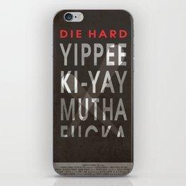 Die Hard iPhone Skin