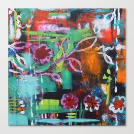 The Secret Garden - Daisy Patch Canvas Print