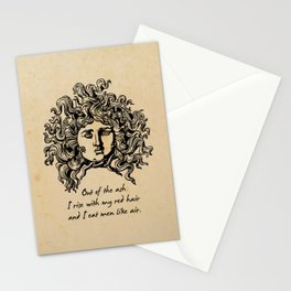 Sylvia Plath - Lady Lazarus Stationery Cards