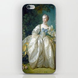 François Boucher Madame Bergeret iPhone Skin