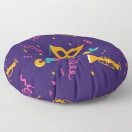Mardi Gras Floor Pillow