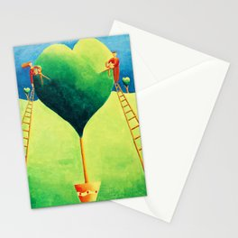 Love in the Garden Stationery Cards