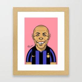 Ronaldo, Inter Milan Framed Art Print