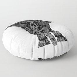 Paisley Elephant Floor Pillow