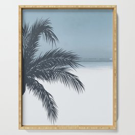 Palm and Ocean Serving Tray