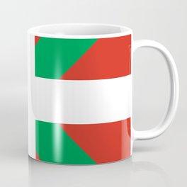 Basque Country: Euskaldun Flag Coffee Mug