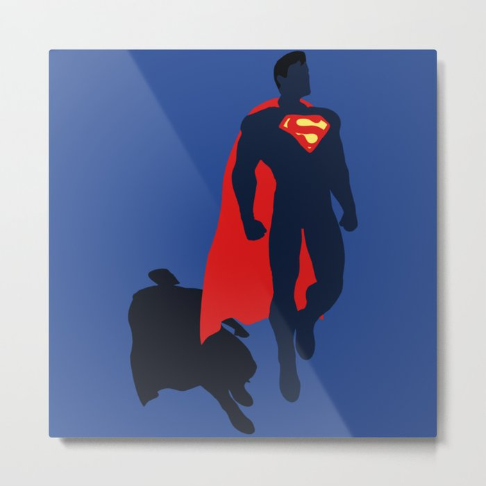 super man Metal Print